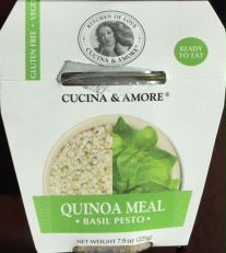 Basil Pesto Quinoa Meal
