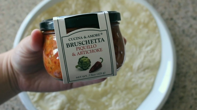 Piquillo & Artichoke Bruschetta