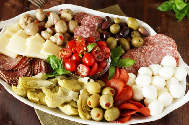 Antipasto Platter from The Kitchen is My Playground