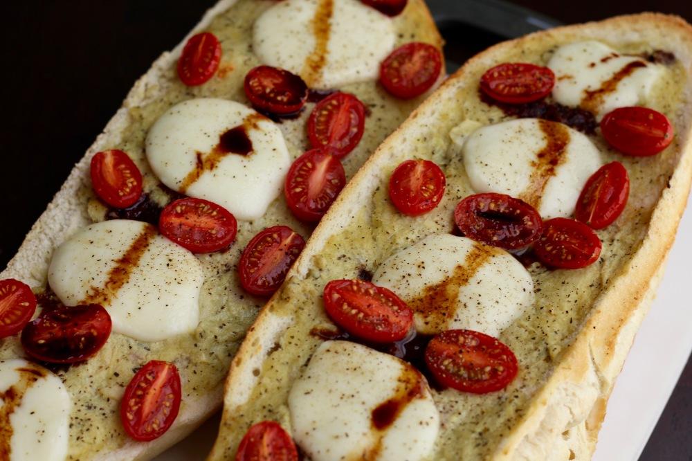 Cucina & Amore Caprese Artichoke Baguette