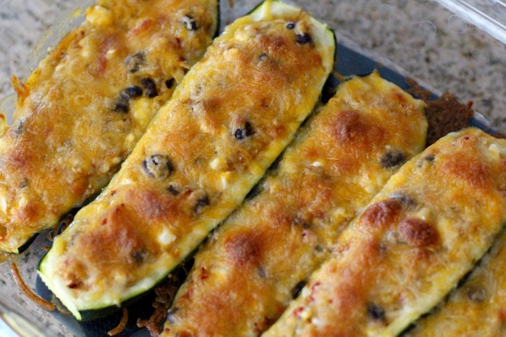 Cucina & Amore Quinoa Stuffed Zucchini Boat