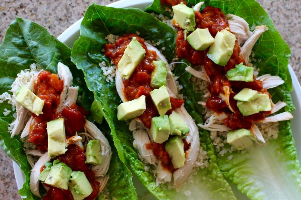 Cucina & Amore Quinoa & Chicken Lettuce Wrap