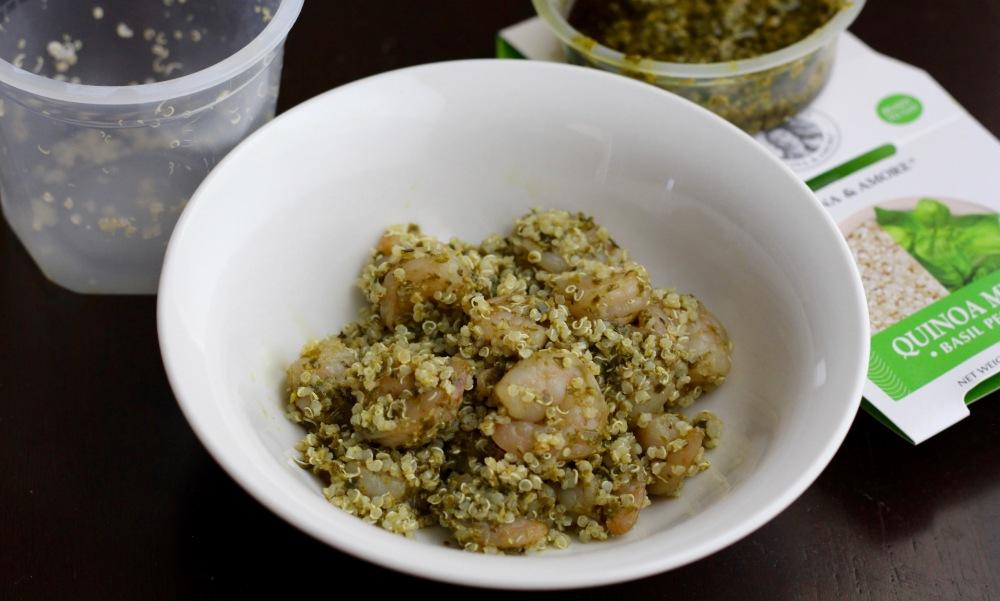 Cucina & Amore Pesto Shrimp Quinoa