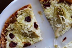 pesto-on-pizza